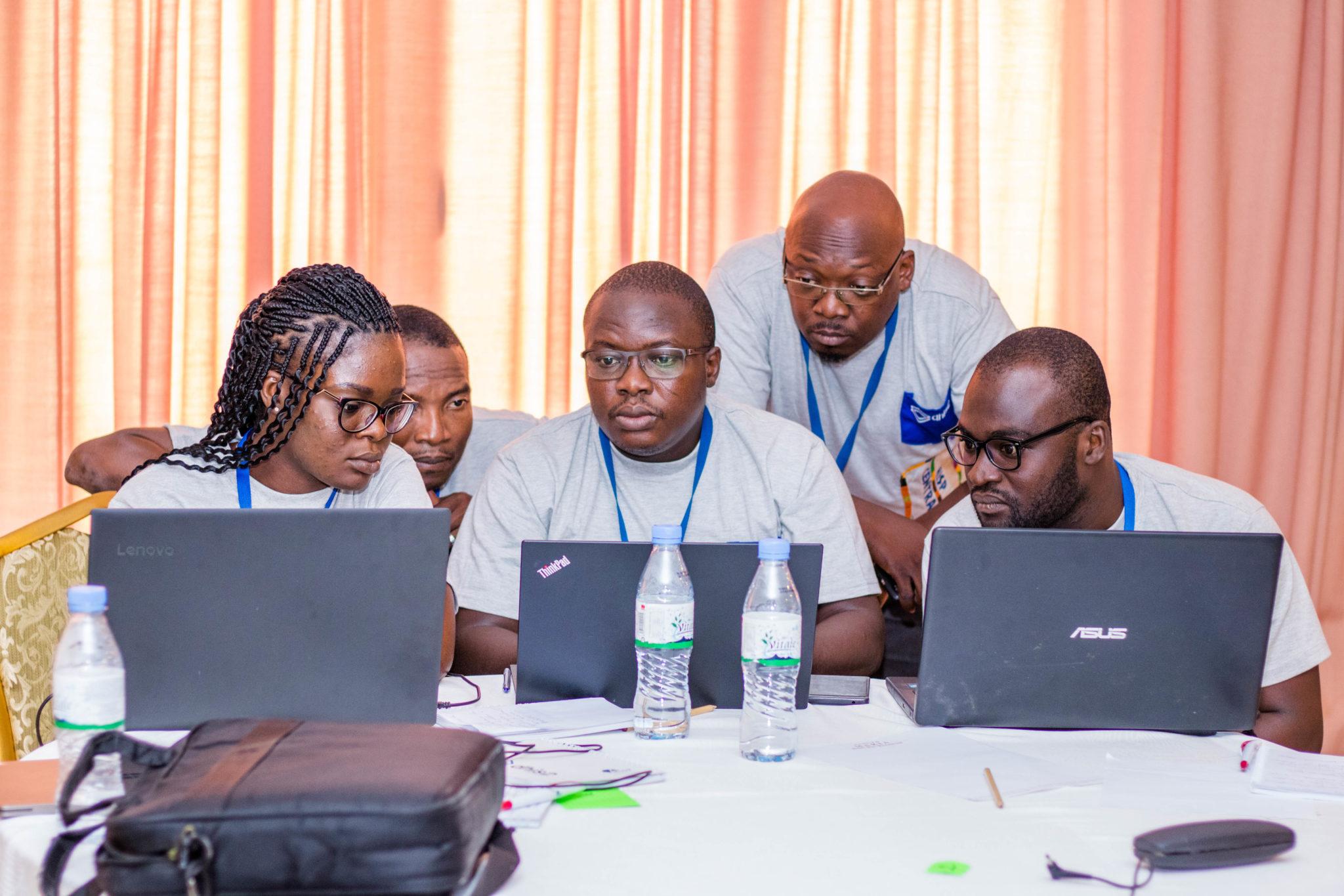 Togo Academy group work